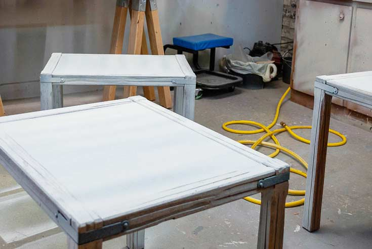 Painting Nesting Tables