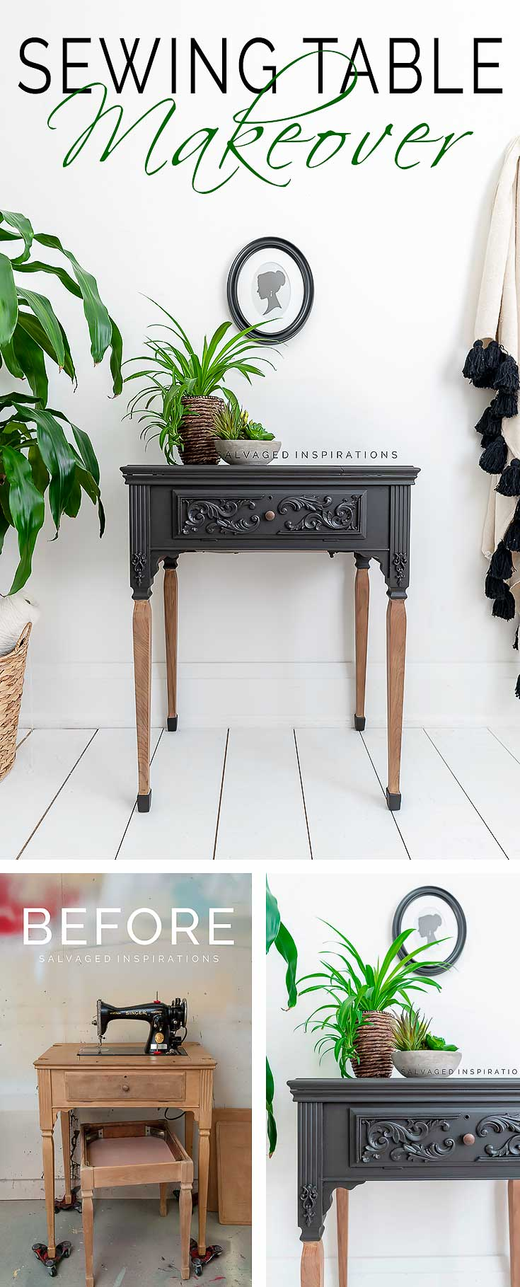 Sewing Cabinet Makeover - PIN