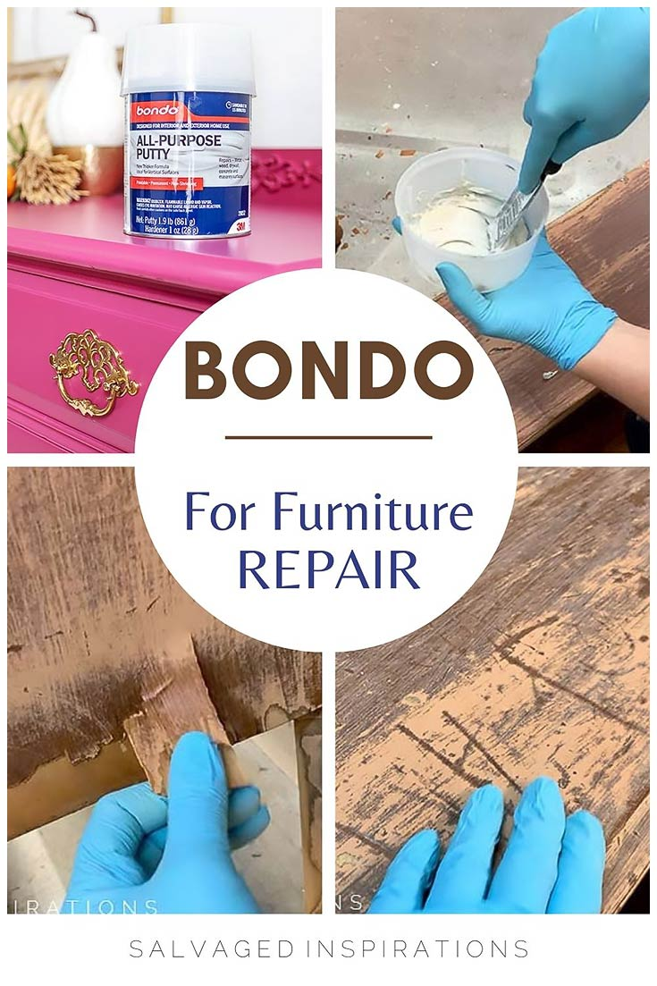 BONDO For Furniture Repair