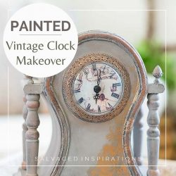 PAINTED Clock Makeover IG