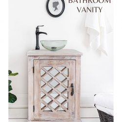 Salvaged Bathroom Vanity PIN