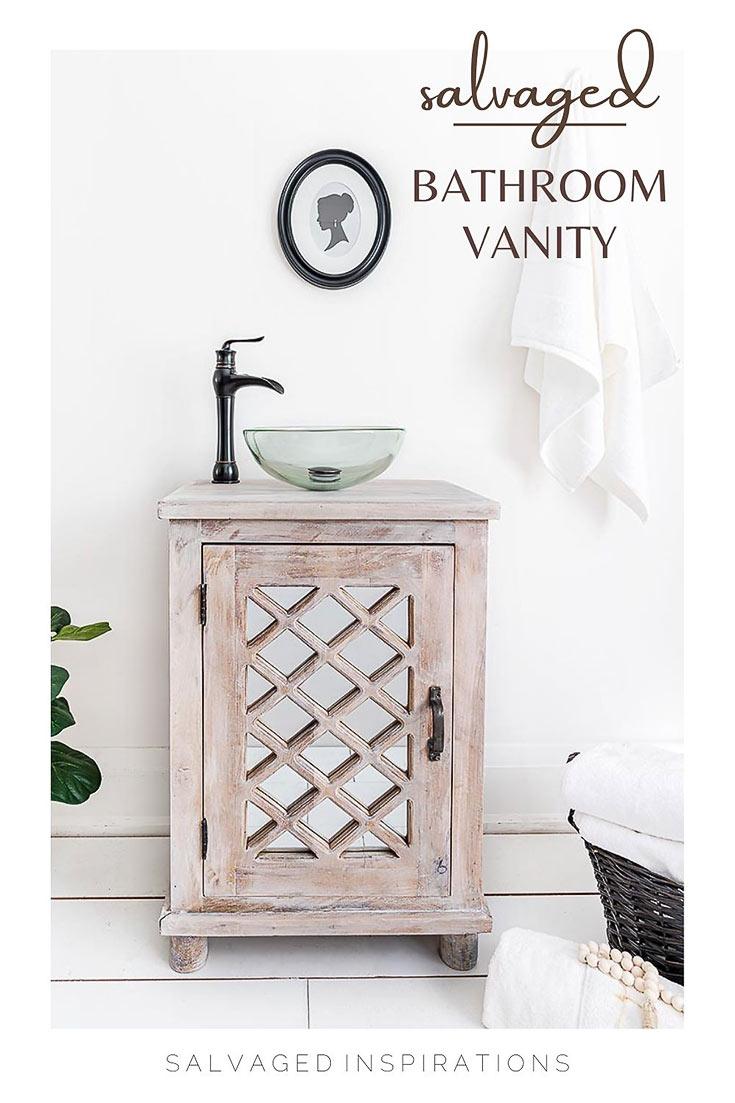 Salvaged Bathroom Vanity PIN