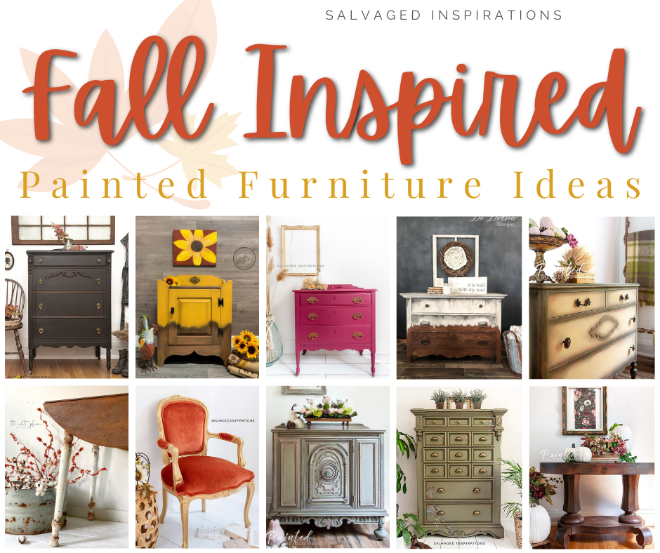 fall inspired painted furniture (8)