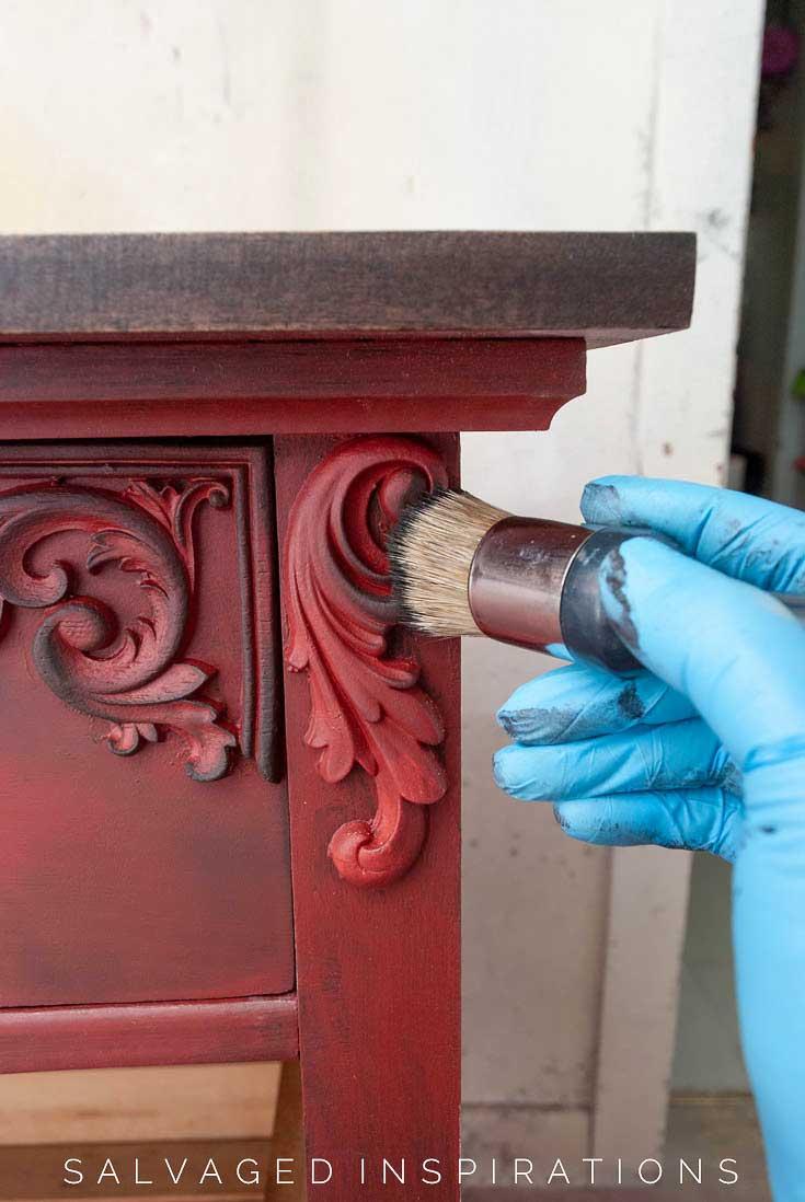 Antiquing WoodUbend w Paint