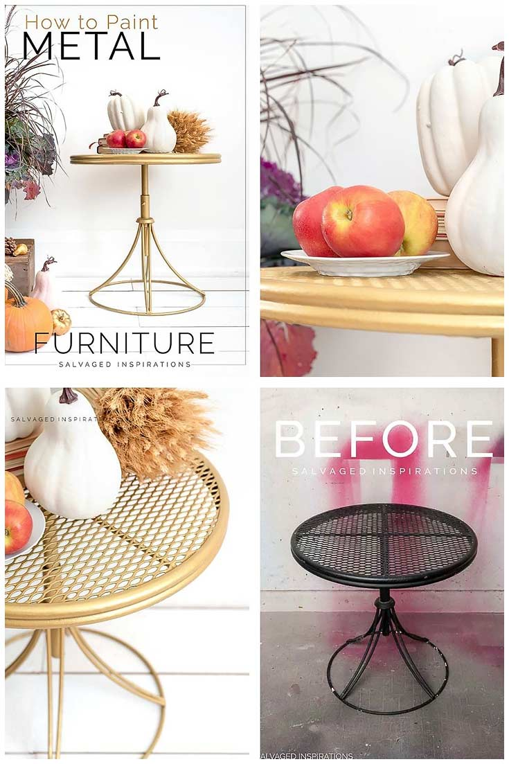 How To Paint Metal Furniture Step by Step