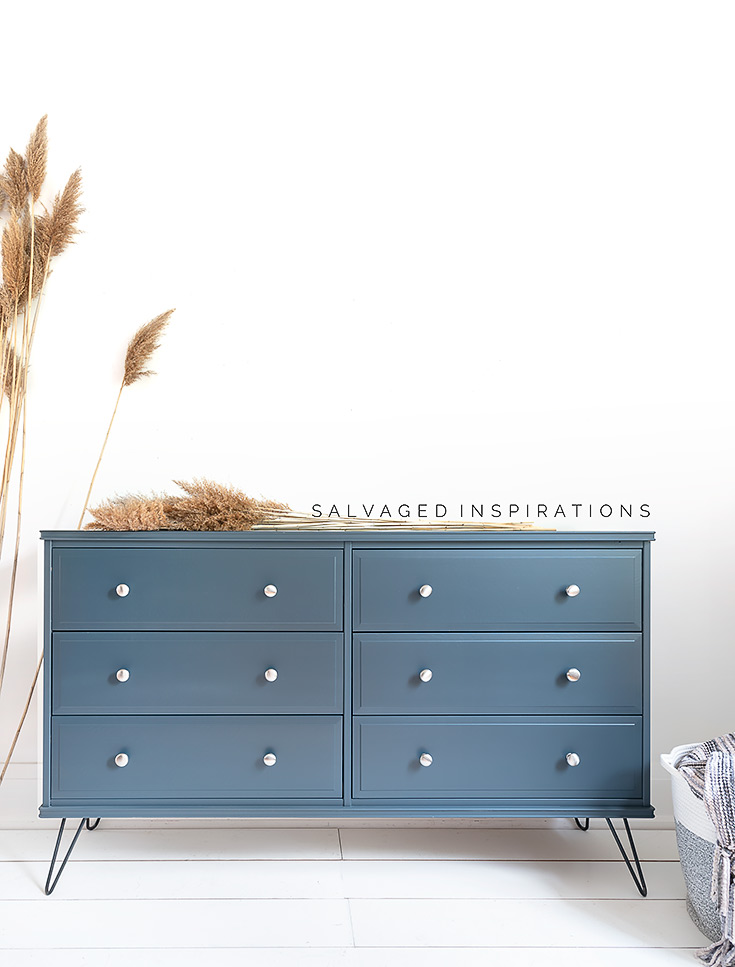 Ikea Dresser Sprayed inDixie Belle Custom Paint