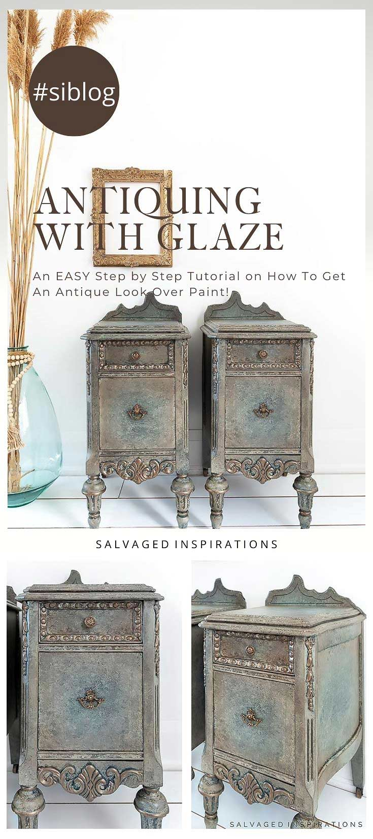 Antiquing With Glaze Step by Step