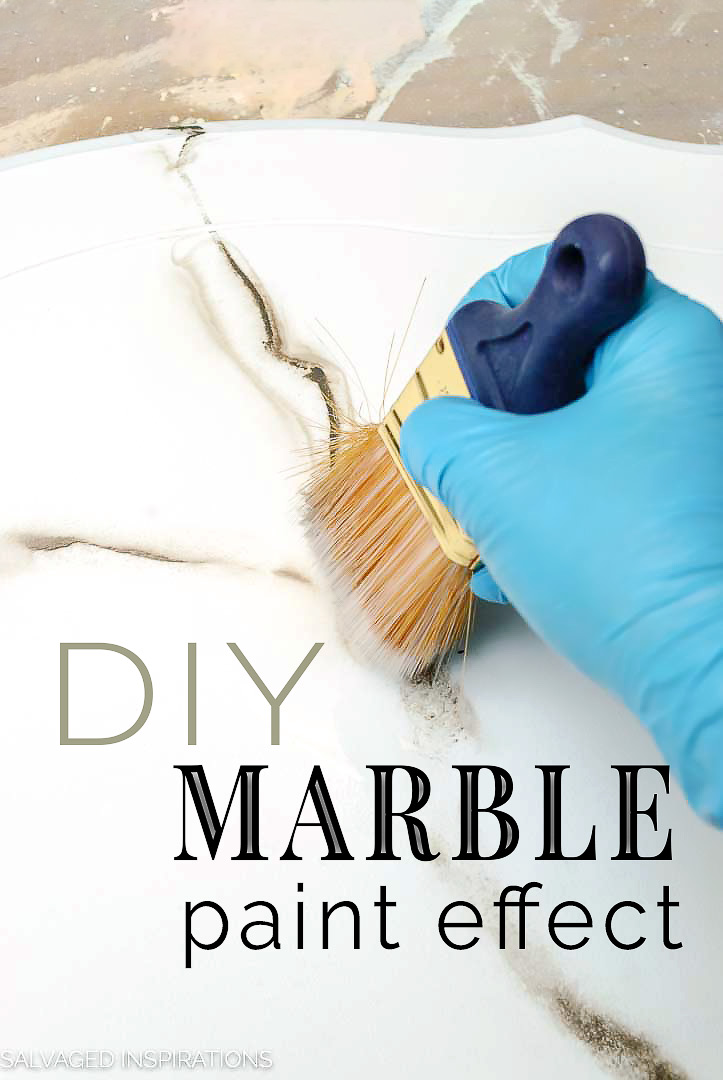 DIY Marble Paint Effects Tutorial