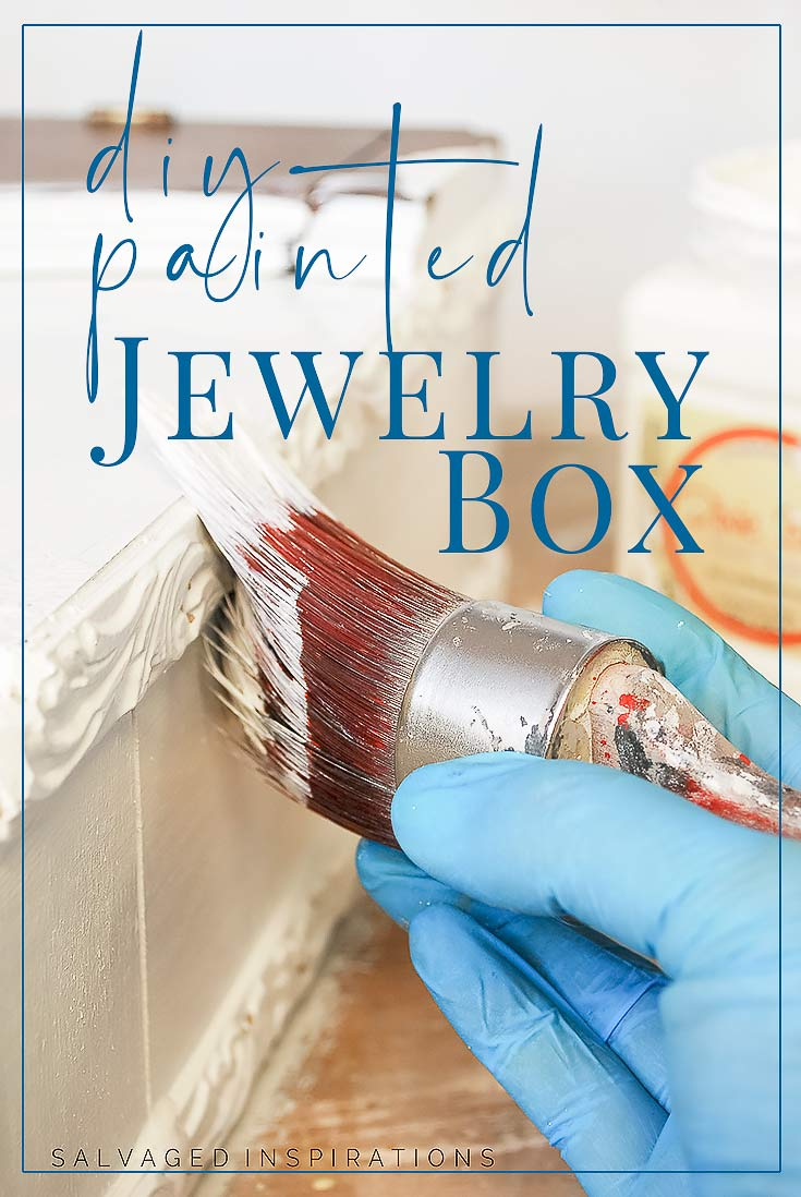 DIY Painted Jewelry Box
