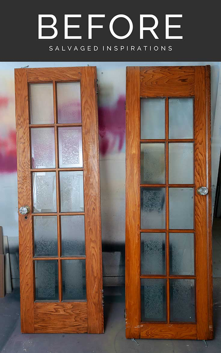 Finished French Doors Before