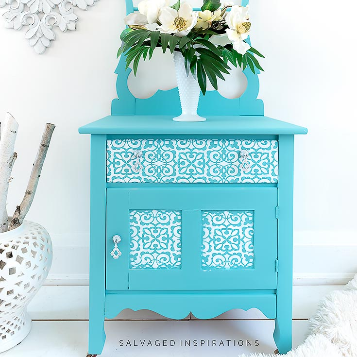 How To Stencil On Furniture