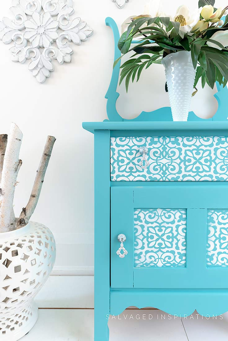 Painted and Stencilled Washstand
