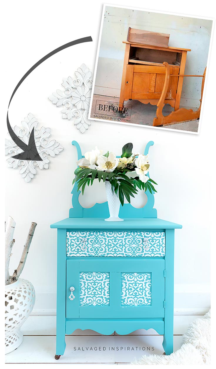 Washstand Before and After 2020