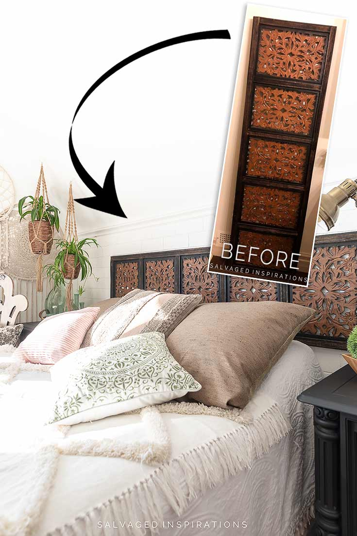 DIY Headboard Ideas Before and After