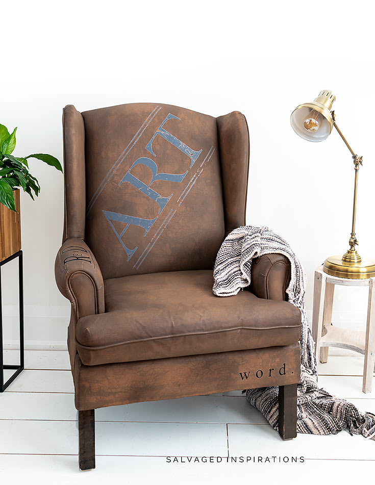 Painted Chair With Transfers