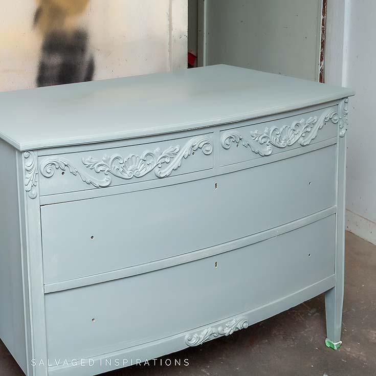 Painted WoodUbend on Dresser