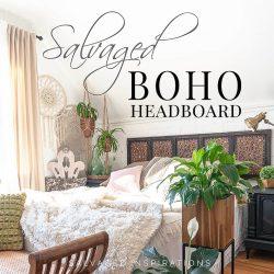 Salvaged Boho Headboard IG