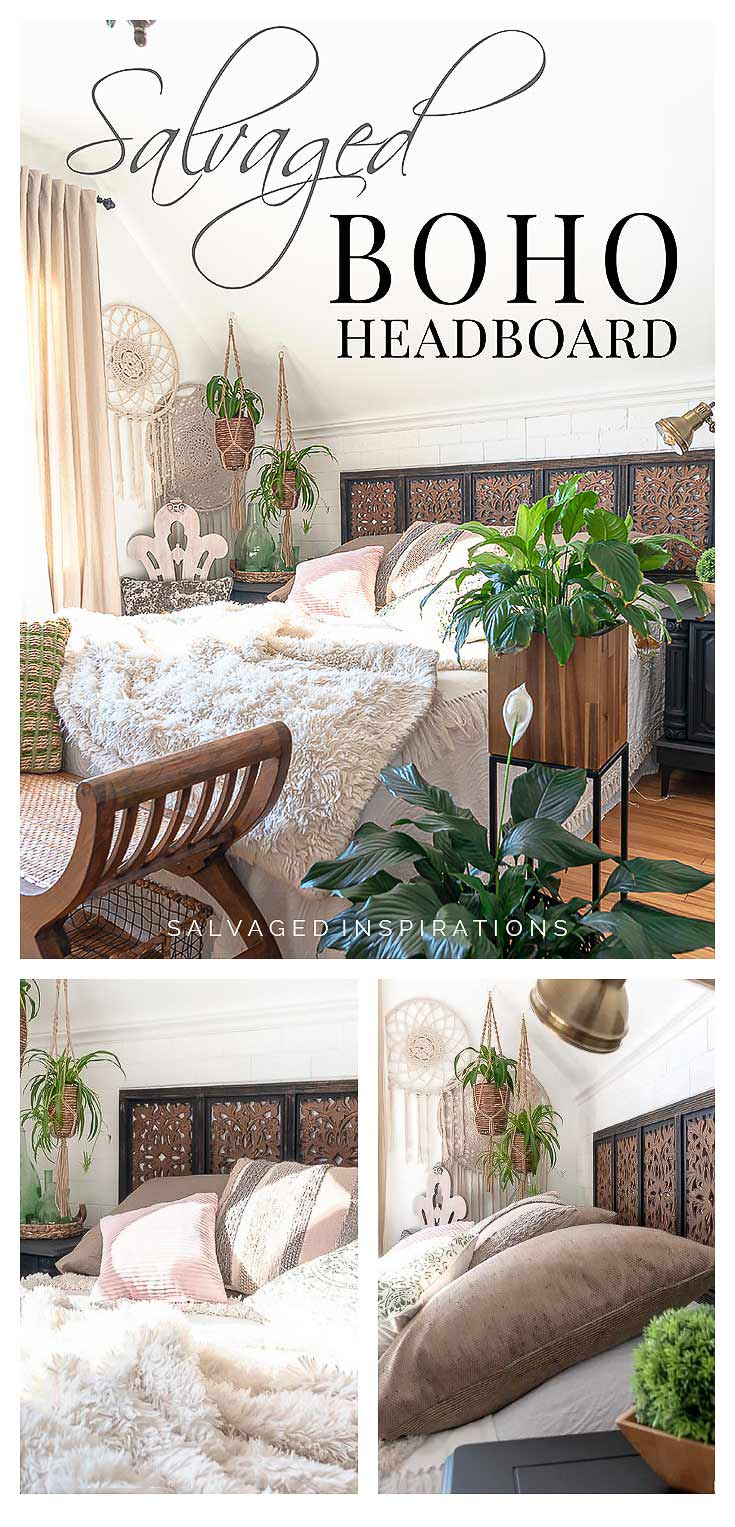 Salvaged Boho Headboard PIN