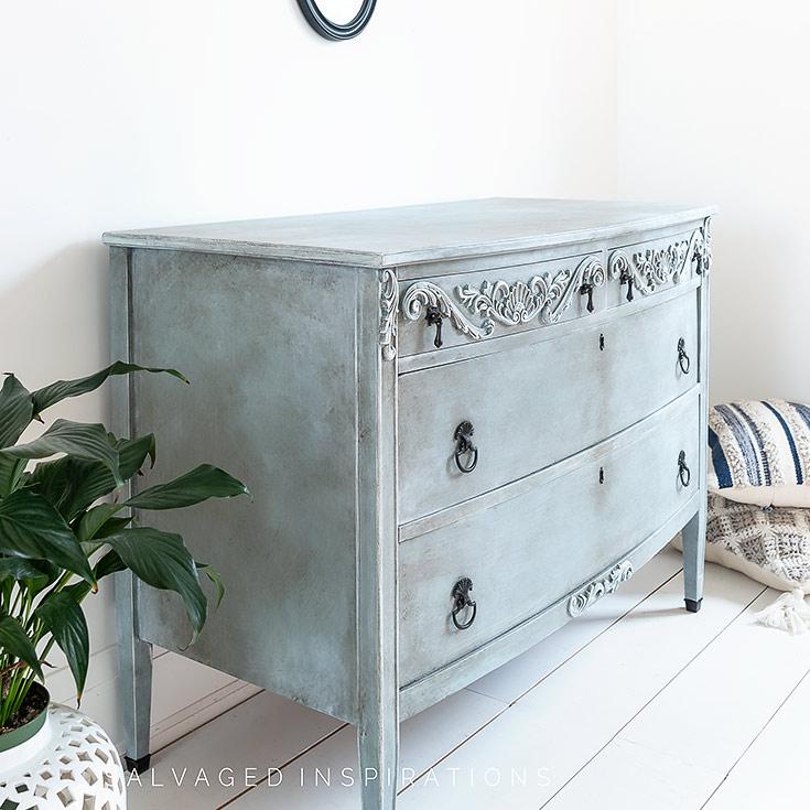 Side View of WoodUbend Dresser