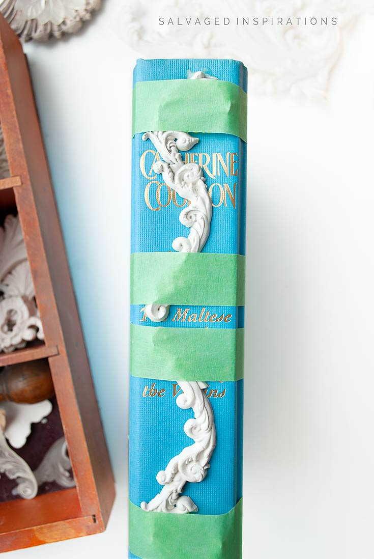 Adding Moulds to Book Spines