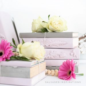 DIY Stacked Book Bundles IG