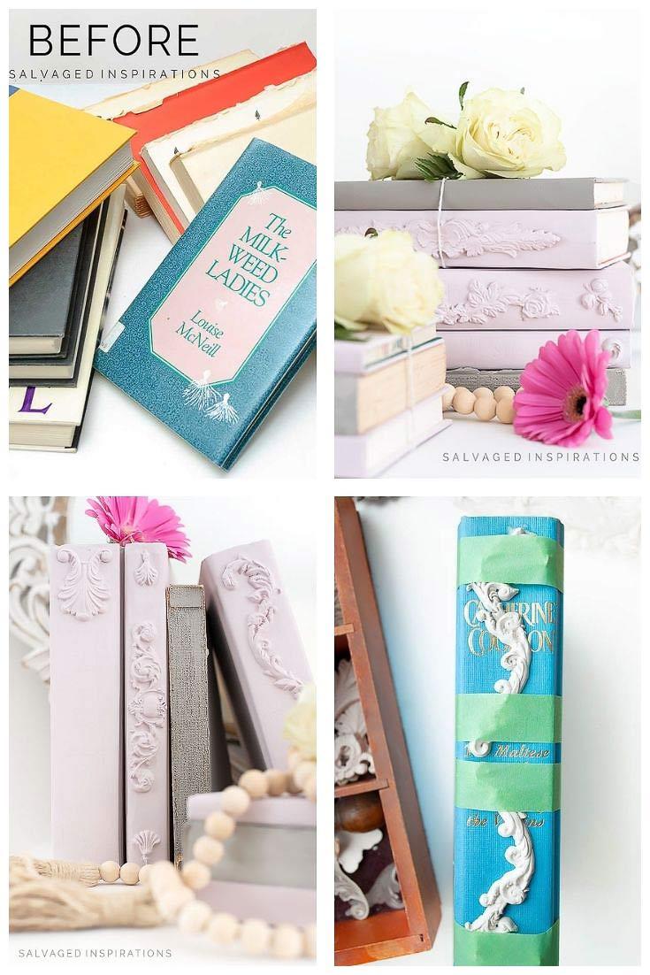 Decorative Book Bundles DIY