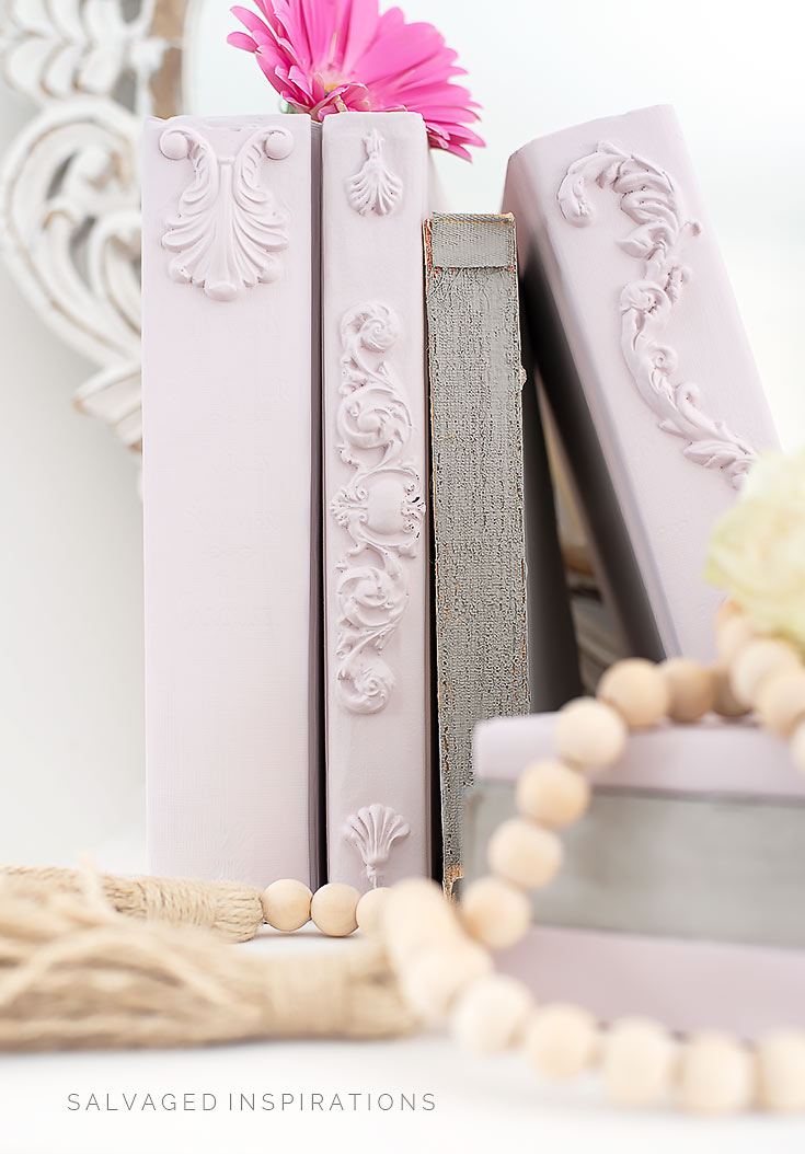 Decorative Stacking Books DIY
