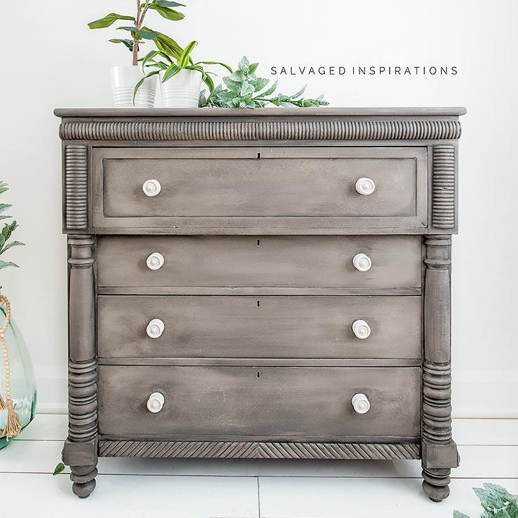 Painted Empire Dresser