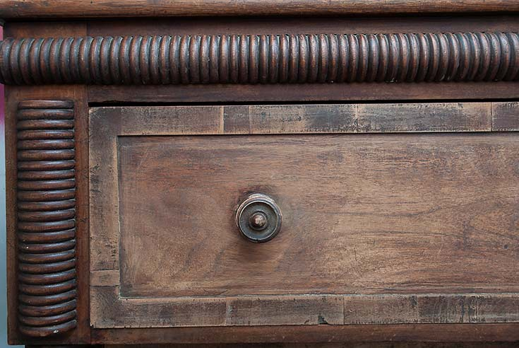 Scuff Sanded Drawer
