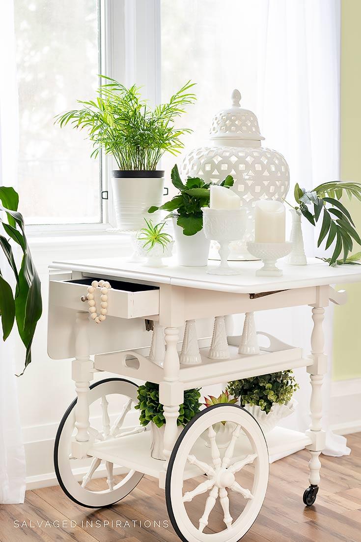 Tea Cart Paint in Silk Mineral Paint