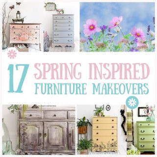 17 Spring Inspired Furniture Makeovers