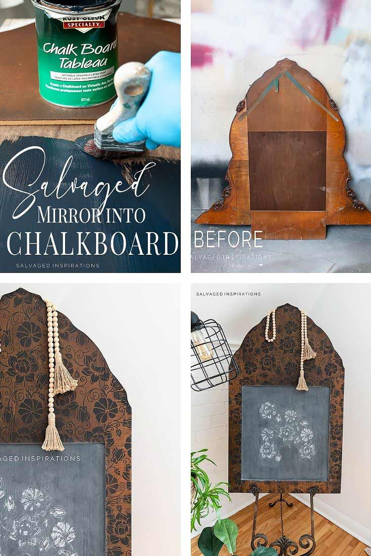 DIY Chalkboard Collage