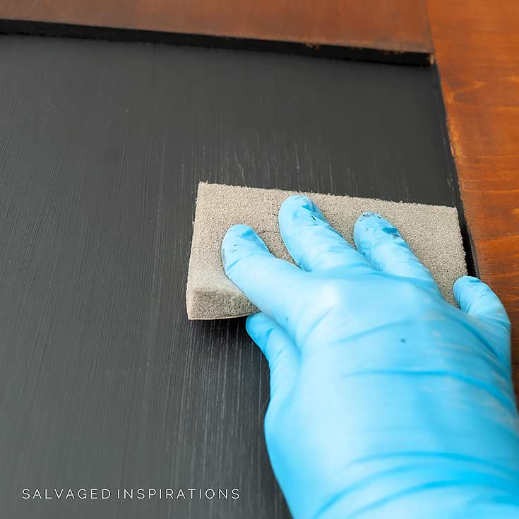 Sanding Chalkboard Paint Between Coats