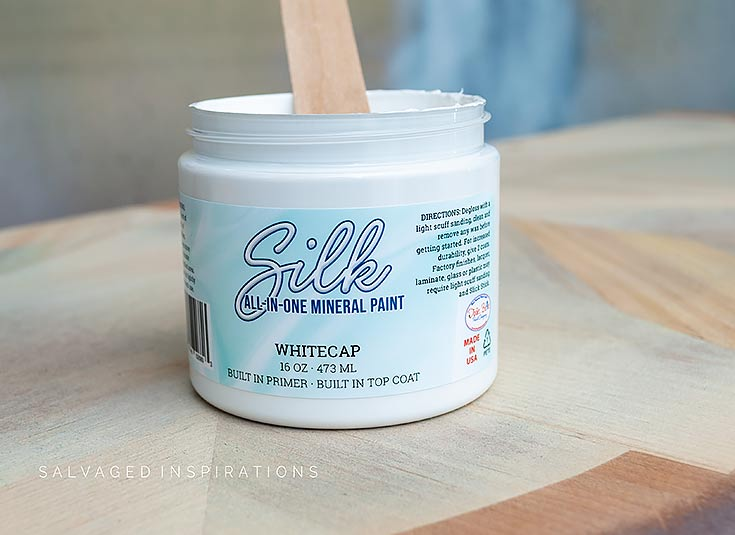 Silk All-In-One-Mineral Paint Whitecap