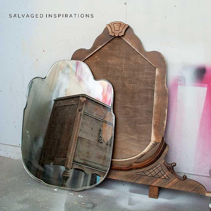 Vintage Mirror Off Dresser