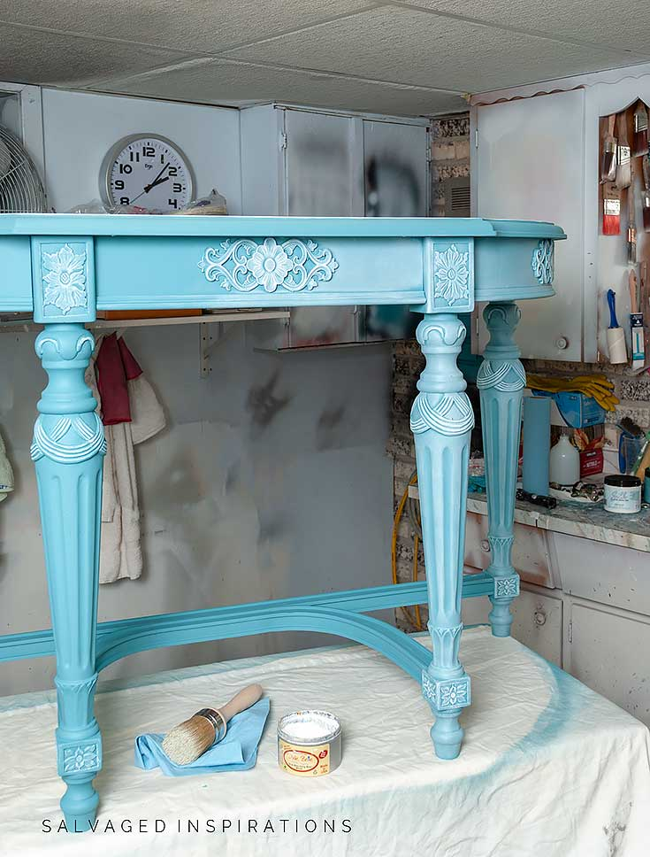 Waxing Entry Hall Table