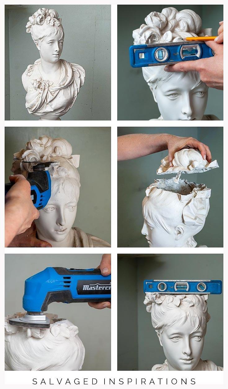 How To Make A Head Planter Pot