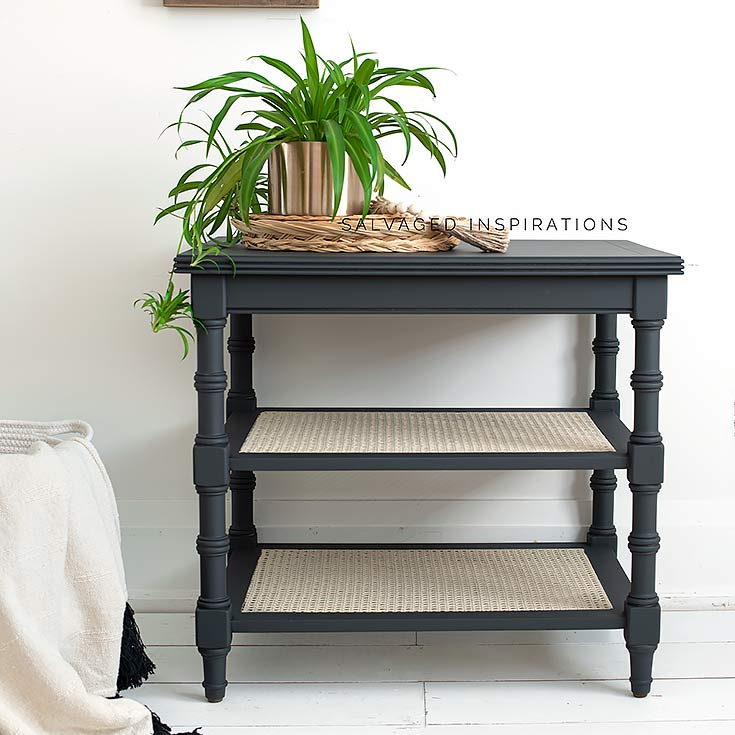 How To Paint Cane Furniture IG