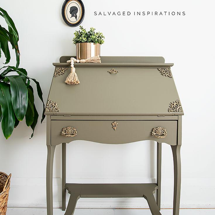 Painted Secretary Desk IG