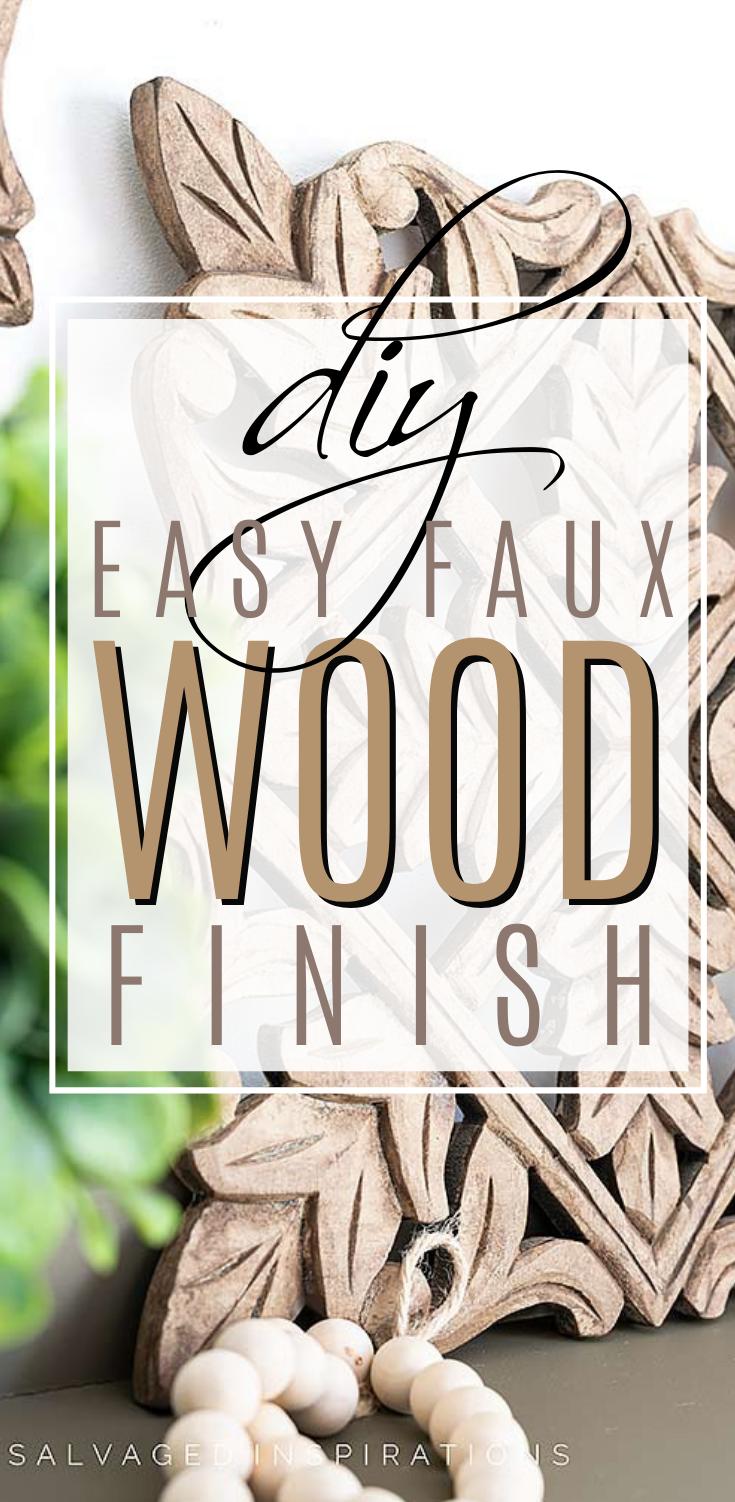 DIY Easy Faux Wood Finish3