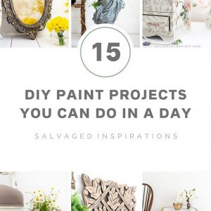 15 DIY Paint Projects Salvaged INspirations