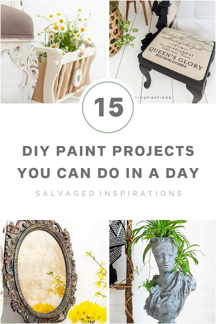 15 DIY Paint Projects You Can Do In A Day