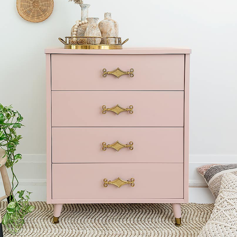 Before and After Conch Dresser