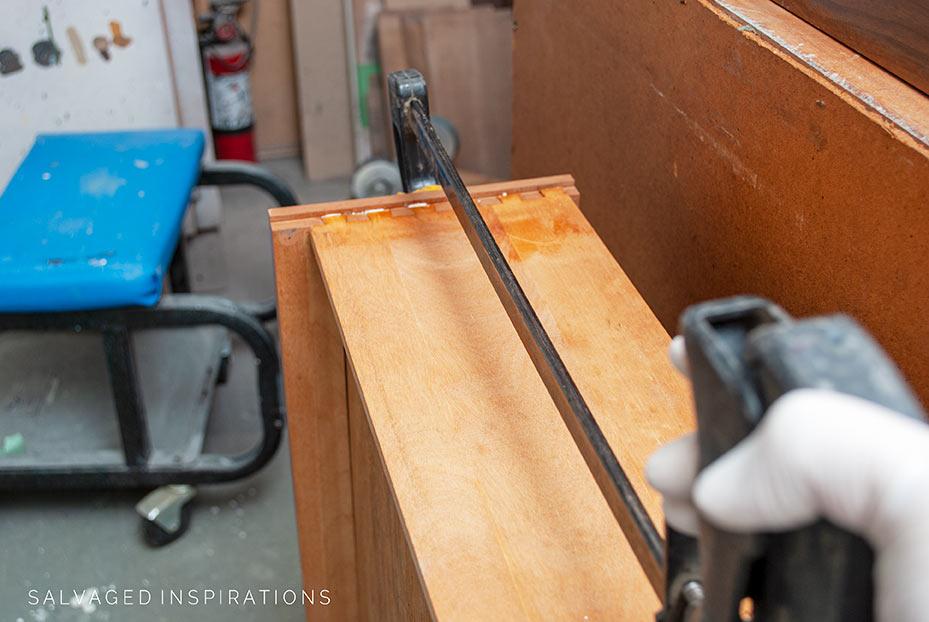 Dresser Drawer Repair