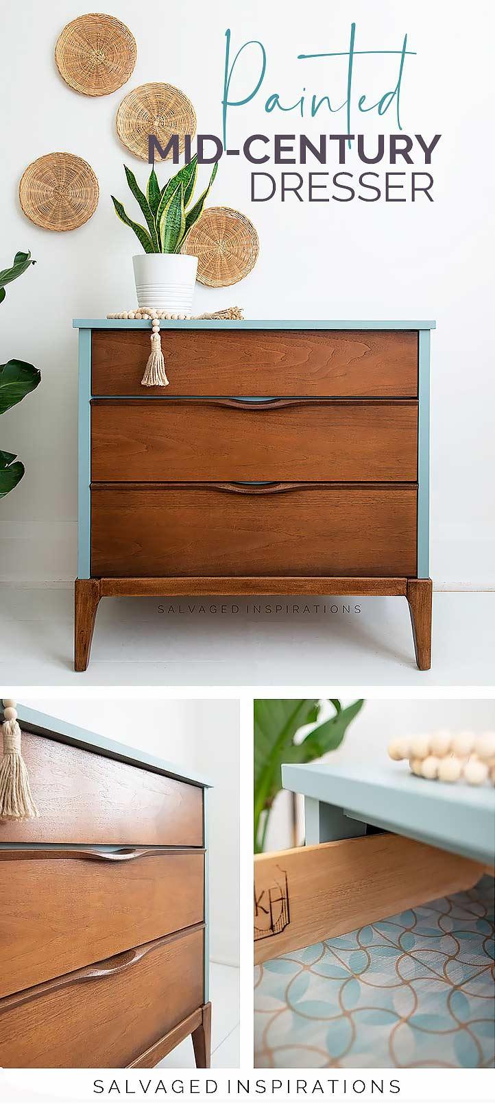 Mid Century Modern Dresser PIN