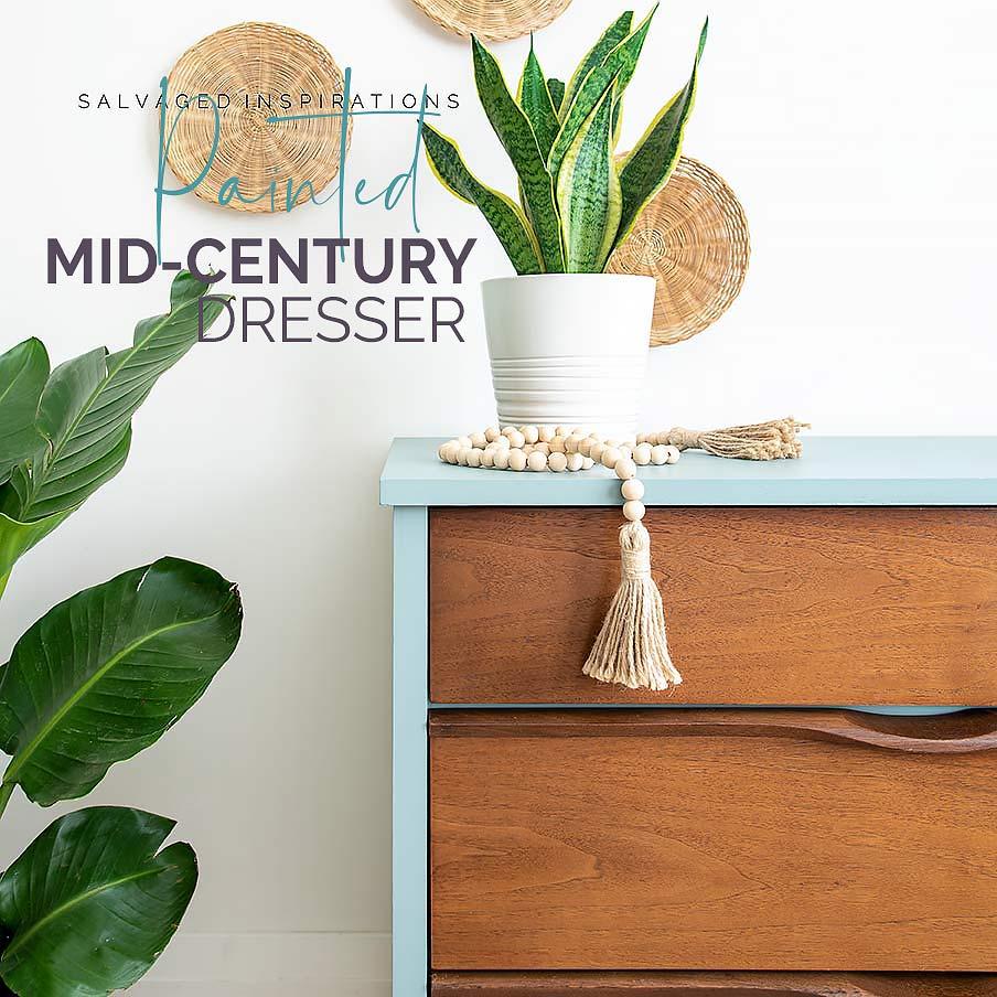 Painted Mid-Century Dresser txt