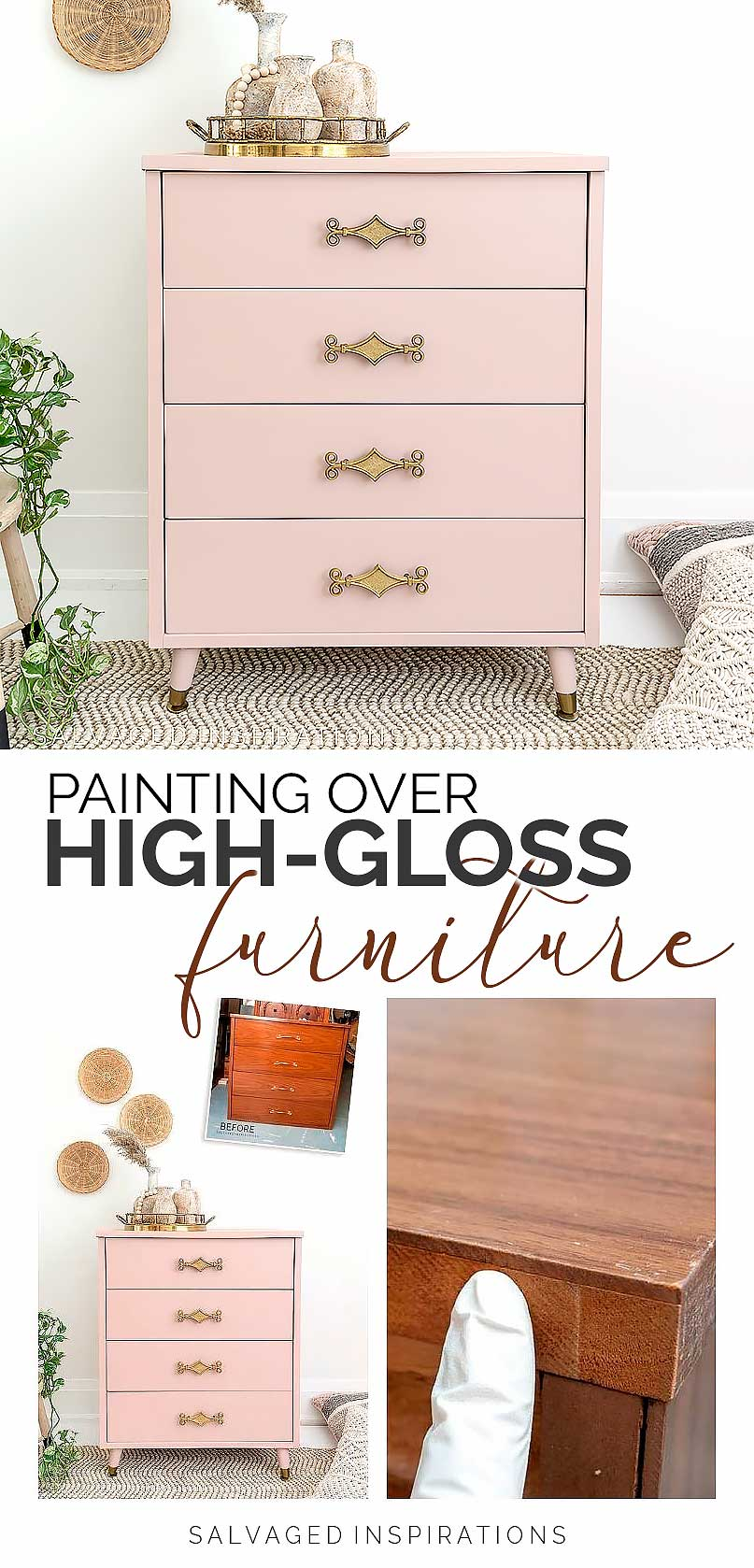 Painting Over High Gloss Furniture PIN