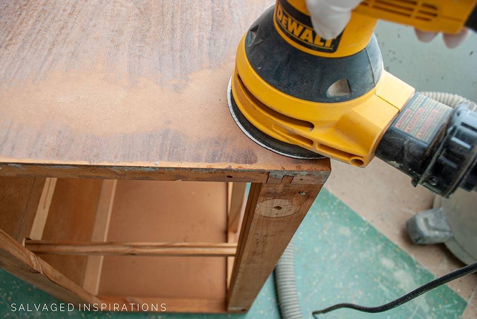 Sanding Glossy Furniture