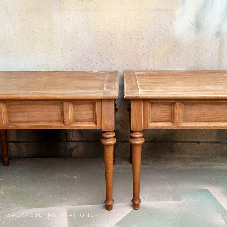 Scuff Sanded Side Tables