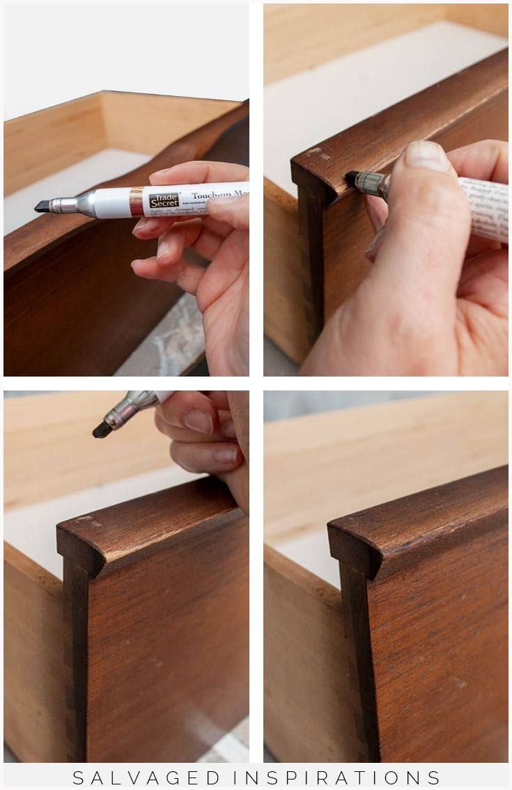 Trade Secret Marker Furniture Repair Collage